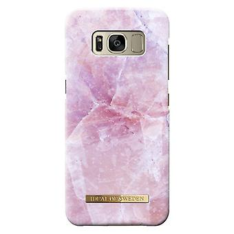 iDeal Of Sweden Samsung Galaxy S8 Plus Marble Shell-Pilion Pink
