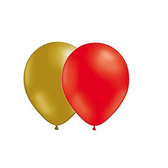 Balloon Combo 24-pack Gold/Red