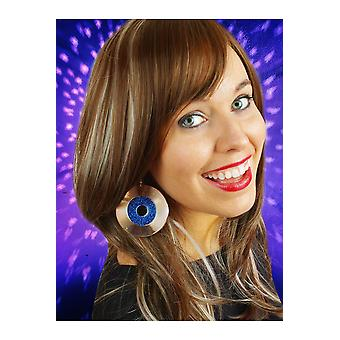 Jewelry and crowns  Disco earrings