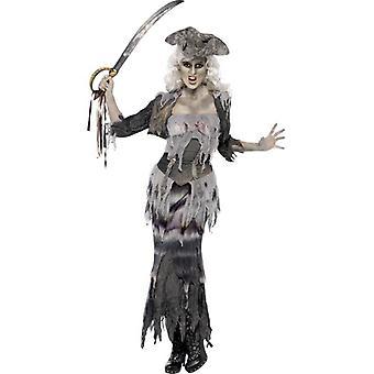 Ghost Ship Ghoulina Costume, UK Dress 8-10