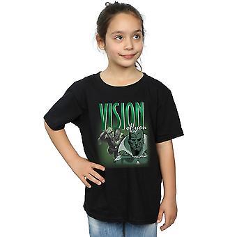 Marvel meisjes visie hommage T-Shirt