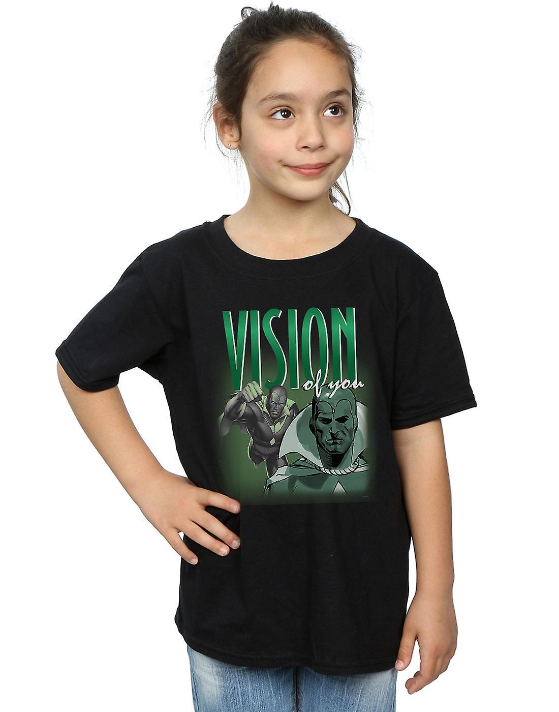 Marvel Girls Vision Homage T-Shirt