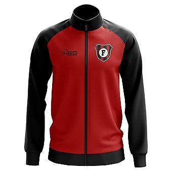 Flamengo käsite jalkapallo Track Jacket (punainen)