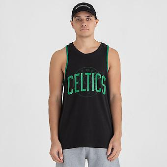 Neue Ära NBA Double Logo Tank T-Shirt ~ Boston Celtics