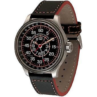 Zeno-Watch Herrenuhr OS Pilot Observer Pointer date 8554ZOB-a17