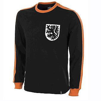 Holland Goalie 1970 Long Sleeve-Retro-Shirt 100 % Baumwolle