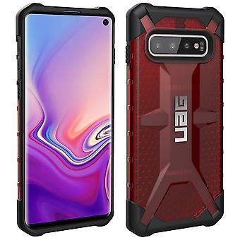 UAG Plasma Series scratch resistant case, armor Cover for Galaxy S10 - Red