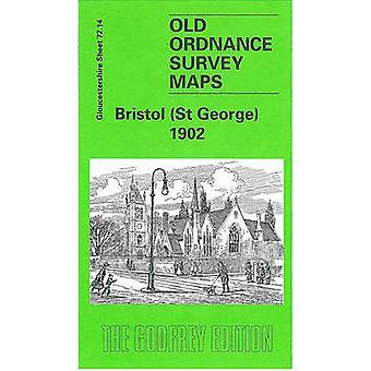 Bristol (St.George) 1902 - Gloucestershire Sheet 72.14 (Facsimile of 1