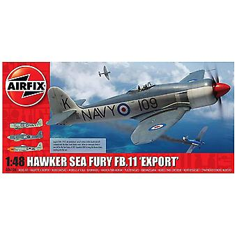 Airfix A06106 Hawker Sea Fury FB.II Export Edition 1:48 skali