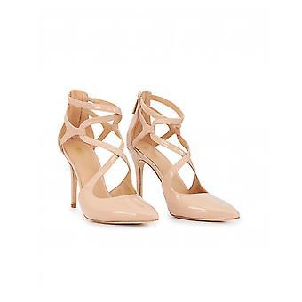 Michael Kors Catia Patent ausgeschnitten Spitze Schuhe