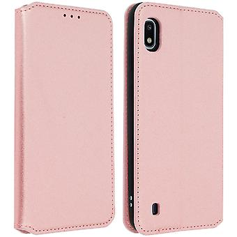 Classic Edition stand case with card slot for Samsung Galaxy A10 - Rose gold