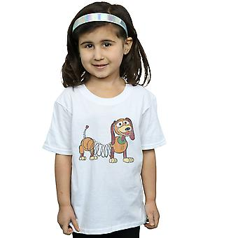 Disney Girls Toy Story 4 Slinky Pose T-Shirt