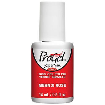 SuperNail ProGel Nail Polish Festival Of Colours 2016 Gel Collection - Mehndi Rose 14ml