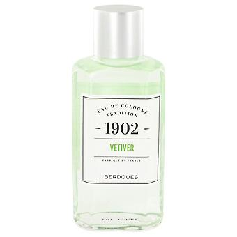 1902 vetiver eau de cologne (unisex) by berdoues 512928 245 ml