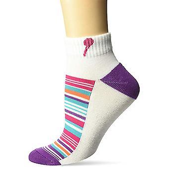 Ženy ' s posádka ponožky-K Bell-variakovaný stripewhite (9-11)