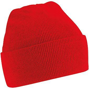 Beechfield-Junior Kids originele geboeid Beanie muts hoed