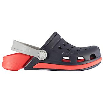 Crocs Kids Electro3 Croc Ajustable Heel Strap Summer Shoes Sandal Cloggs