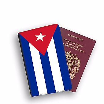 CUBA Flag Passport Holder Style Case Cover Protective Wallet Flags design
