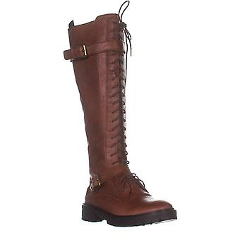 Lucky Brand Womens Almond Toe Knee High Fashion Boots