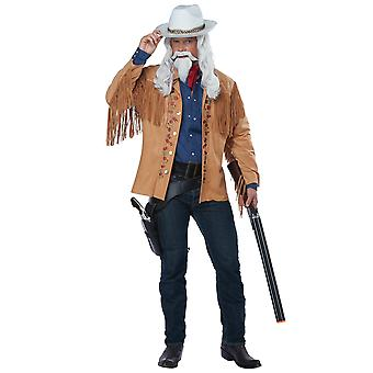 Buffalo Bill Wild West Showman Western Cowboy Rodeo Adult Mens Costume