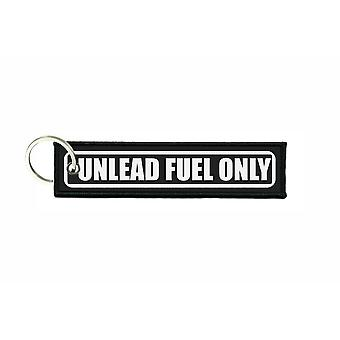 Porte cles aviation keychain voiture carburant unlead fuel only r5