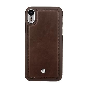 Marvêlle iPhone XR Magnetic Case Dark Brown Basic