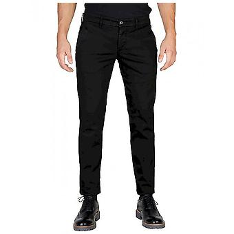 Oxford University - Clothing - Pants - OXFORD_PANT-REGULAR-BLACK - Men - Schwartz - 33