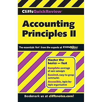 Accounting Principles: Bk. 2 (Cliffs Quick Review)