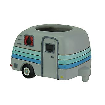 Allen Designs Happy Camper Whimsical Indoor/Outdoor Planter