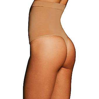 Womens Body Wrap Regular Pin Thin High Waist Nude Thong 44841
