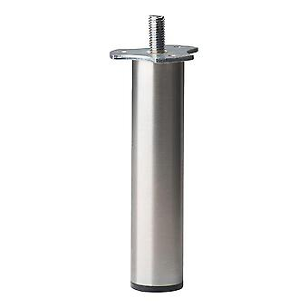 Round stainless Steel Furniture leg 14 cm (M10)