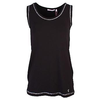 Sundae Tee Victoria Black Sleeveless Vest