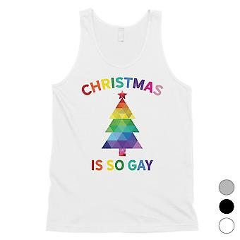 Christmas So Gay Humorous Mens Tank Top X-mas Présent