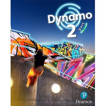 Dynamo 2 Vert Pupil Book Key Stage 3 French by Clive Bell