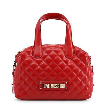 Love moschino women's handbag - jc4005pp18la, red
