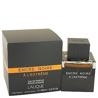 Encre noire a l'extreme eau de parfum spray by lalique 533546 100 ml