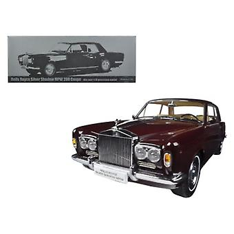 1968 Rolls Royce Silver Shadow Burgundy 1/18 Diecast Model Car par Paragon