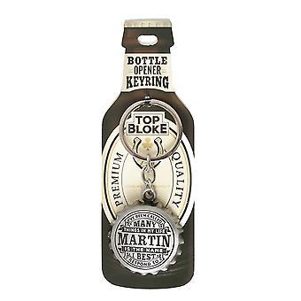 History & Heraldry Keyring - Martin Bottle Opener