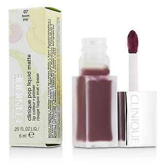 Pop liquid matte lip colour + primer # 07 boom pop 207097 6ml/0.2oz