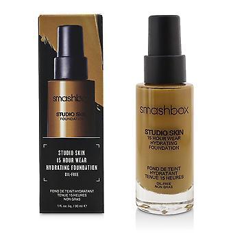 Studio iho 15 tunnin kulumista kosteuttava meikkiperustus # 3.35 kultainen medium beige 219482 30ml /1oz