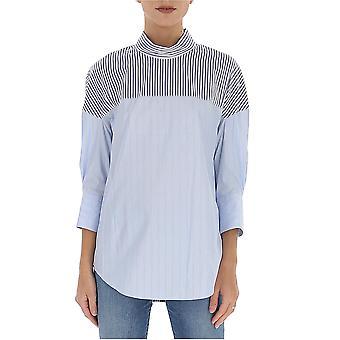 3.1 Phillip Lim E2022974cppbl461 Women's Light Blue Cotton Blouse