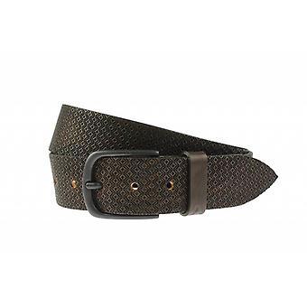 Tuffa mörkbruna jeansbälte