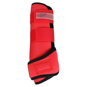 QHP Air Neoprene protectors Bright Red