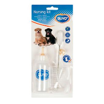 Duvo Biberon Con Cepillos Y Tetina 115 Ml (Dogs , Bowls, Feeders & Water Dispensers)