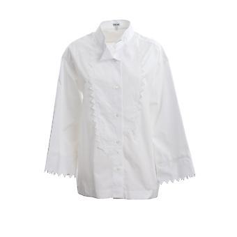 Loewe S540337x682100 Kvinder's Hvid Bomuldsskjorte
