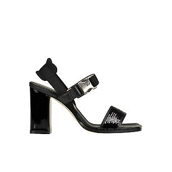 Alberto Gozzi Ezgl249014 Women's Black Sequins Sandals
