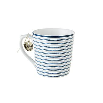 Laura Ashley Mug, Candy Stripe
