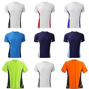 Gamegear Mens Cooltex V-Neck Short Sleeved Team Top / Mens Sportswear