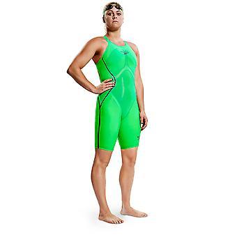 Speedo Women's Fastskin Lzr Racer X Openback Kneeskin Competition Swimwear