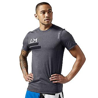 Reebok Les Mills Cycle AJ0525 training all year men t-shirt